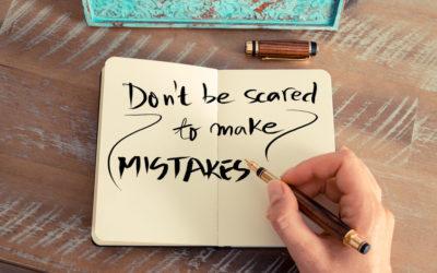 Bang om fouten te maken? Ontdek hoe je op 2 manieren de angst aanzienlijk vermindert.